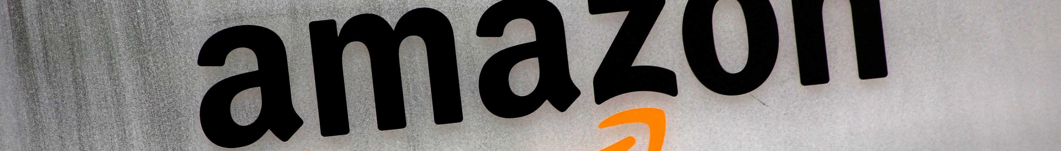 Amazon.com's logo is seen at Amazon Japan's office building in Tokyo, Japan, August 8, 2016. REUTERS/Kim Kyung-Hoon - RTSLR6W