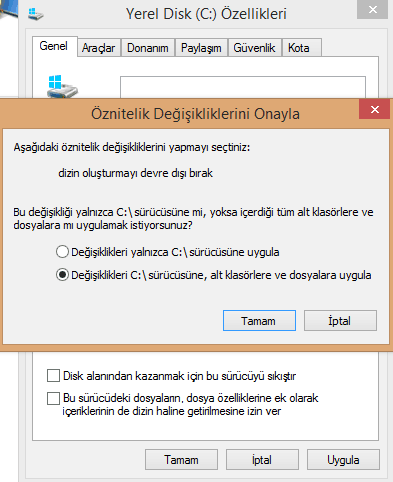 windows 10 disk kullanım problemi